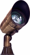 Dabmar LV131-ABZ Contemporary Antique Bronze Halogen Outdoor Directional Spotlight with Hood