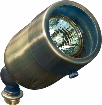 Dabmar LV29-ABS Modern Antique Brass Halogen Exterior Directional Spot Lighting