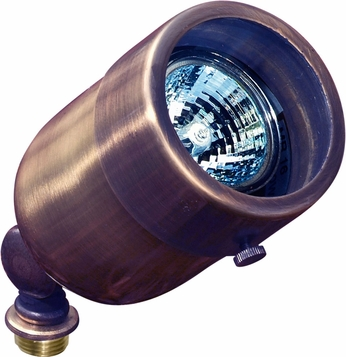 Dabmar LV29-ABZ Contemporary Antique Bronze Halogen Outdoor Directional Spot Light