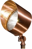 Dabmar LV30-CP Contemporary Copper Halogen Outdoor Home Security Light