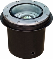 Dabmar LV306-SS-MR Contemporary Stainless Steel Halogen Exterior Cast Aluminum Well Lighting