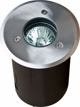 Dabmar LV311 Contemporary Stainless Steel Halogen Exterior In-Ground Well Lighting