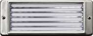 Dabmar LV601-SS304 Stainless Steel Halogen Outdoor Recessed Louvered Step Lighting