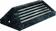Dabmar LV608-VG Contemporary Verde Green Halogen Outdoor Surface Mount Louvered Step Light