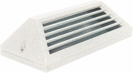 Dabmar LV608-W Modern White Halogen Exterior Surface Mount Louvered Step Lighting