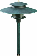 Dabmar LV70-PG Contemporary Patina Green Halogen Outdoor Pathway Lighting
