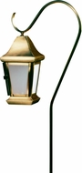 Dabmar LV81-ABS Contemporary Antique Brass Halogen Exterior Post Light