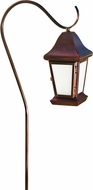 Dabmar LV81-ABZ Modern Antique Bronze Halogen Outdoor Lighting Post Light