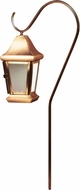 Dabmar LV81-CP Contemporary Copper Halogen Exterior Post Lighting