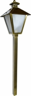 Dabmar LV82-ABS Antique Brass Halogen Outdoor Post Lighting