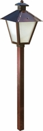 Dabmar LV82-ABZ Antique Bronze Halogen Exterior Post Lamp