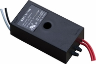 Dabmar LVT105-A Black Outdoor Electronic 105 Watt Low Voltage Transformer