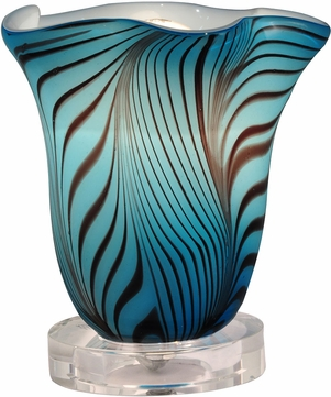 Dale Tiffany AA14179 Loyola Contemporary Clear Accent Lamp