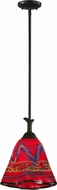 Dale Tiffany AH11253CB Rivera Contemporary Coffee Black Mini Pendant Lighting Fixture