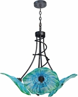 Dale Tiffany AH14303 Waterfront Contemporary Dark Bronze Pendant Light