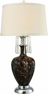 Dale Tiffany AT15330LED Elements Polished Chrome LED Table Lighting