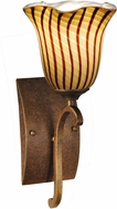 Dale Tiffany AW14176 Valley Glen Contemporary Antique Golden Bronze Wall Sconce
