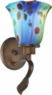 Dale Tiffany AW14290 Morgan Contemporary Rustic Bronze Wall Lighting