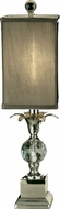 Dale Tiffany GA11219 Castine Polished Nickel Side Table Lamp