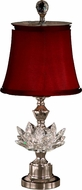 Dale Tiffany GA11260 Susannah Polished Nickel Table Lamp