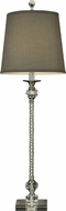 Dale Tiffany GB12002 Allister Polished Chrome Buffet Table Lamp