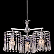 Dale Tiffany GH80291 Paddington Polished Chrome Mini Lighting Chandelier