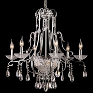 Dale Tiffany GH90092 Oxford Polished Chrome Chandelier Light