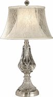 Dale Tiffany GT10227 Lawrence Brushed Nickel Table Lamp