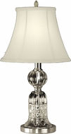 Dale Tiffany GT10355 Milton Satin Nickel Table Top Lamp