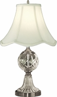 Dale Tiffany GT10356 Hudson Antique Pewter Side Table Lamp