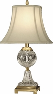 Dale Tiffany GT10370 Sutton Antique Brass Lighting Table Lamp