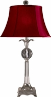 Dale Tiffany GT11210 Chandon Polished Nickel Lighting Table Lamp