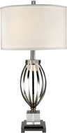 Dale Tiffany GT13269 Bird Cage Polished Nickel Table Top Lamp