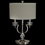 Dale Tiffany GT14042 Sheridan Polished Nickel Table Lighting