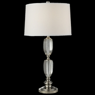 Dale Tiffany GT14261 Crystal Cove Polished Nickel Lighting Table Lamp