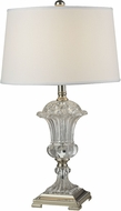 Dale Tiffany GT14268 Crystal Orb Polished Nickel Table Lamp