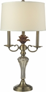 Dale Tiffany GT14276 Champagne Antique Brass Table Lighting