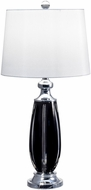 Dale Tiffany GT17085 Blackline Polished Chrome Table Light