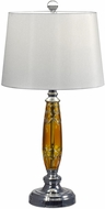 Dale Tiffany GT17088 Autumn Lake Polished Chrome Lighting Table Lamp