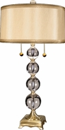 Dale Tiffany GT701217 Aurora Antique Brass Side Table Lamp