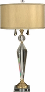 Dale Tiffany GT701218 Strada Antique Brass Table Lamp