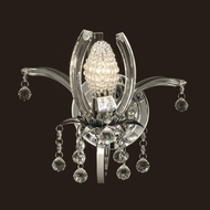 Dale Tiffany GW10740 Sullivan Polished Chrome Wall Lighting Fixture