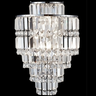 Dale Tiffany GW13348 Cathedral Polished Chrome Wall Sconce Lighting