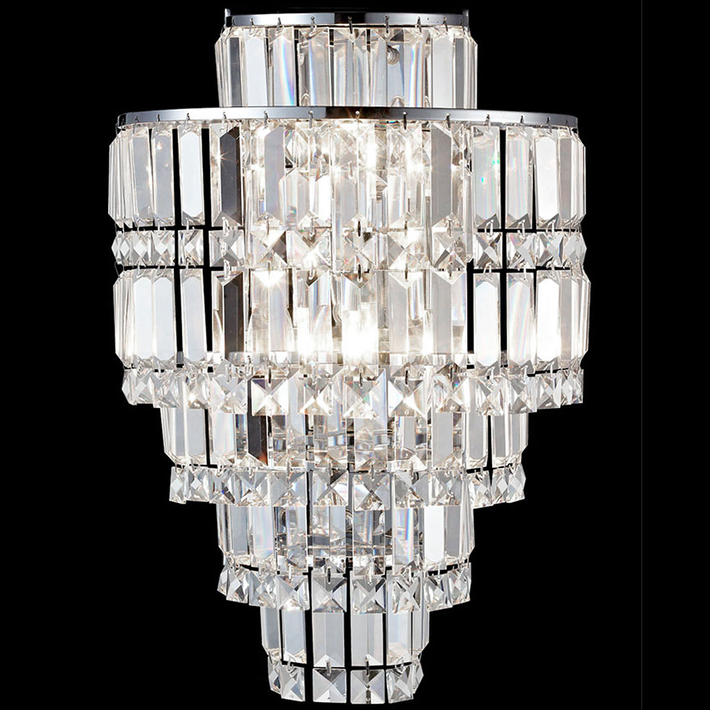 Dale Tiffany GW13348 Cathedral Polished Chrome Wall Sconce Lighting.  Loading Zoom Part 75