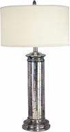 Dale Tiffany PG10538 Silver Art Antique Pewter Table Top Lamp