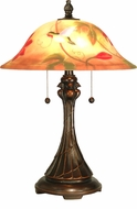 Dale Tiffany RT60278 Tropical Sun Antique Golden Sand Table Top Lamp