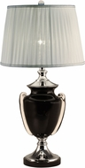 Dale Tiffany SAT16001LED Regis Polished Chrome LED Table Lighting