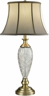 Dale Tiffany SGT16153 Brewars Antique Brass Lighting Table Lamp