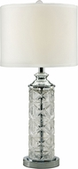 Dale Tiffany SGT17036 Kaia Polished Chrome Table Top Lamp