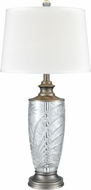 Dale Tiffany SGT17160 Festival Antique Nickel Lighting Table Lamp